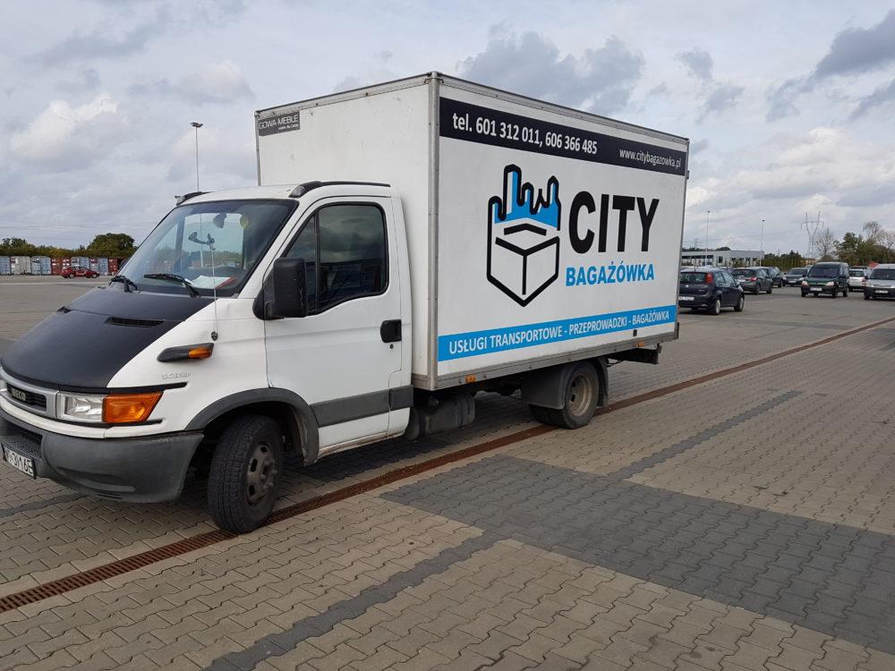 City Bagażówka pomoże Ci w przeprowadzce