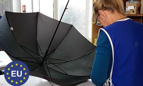 Producent parasoli dla firm z jakością UE i dobrą ceną? Schirmmacher to potrafi